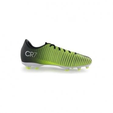 Mercurial Vortex III CR7 Junior FG Boots