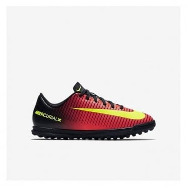 MERCURIAL X VORTEX III JNR TURF FOOTBALL BOOT