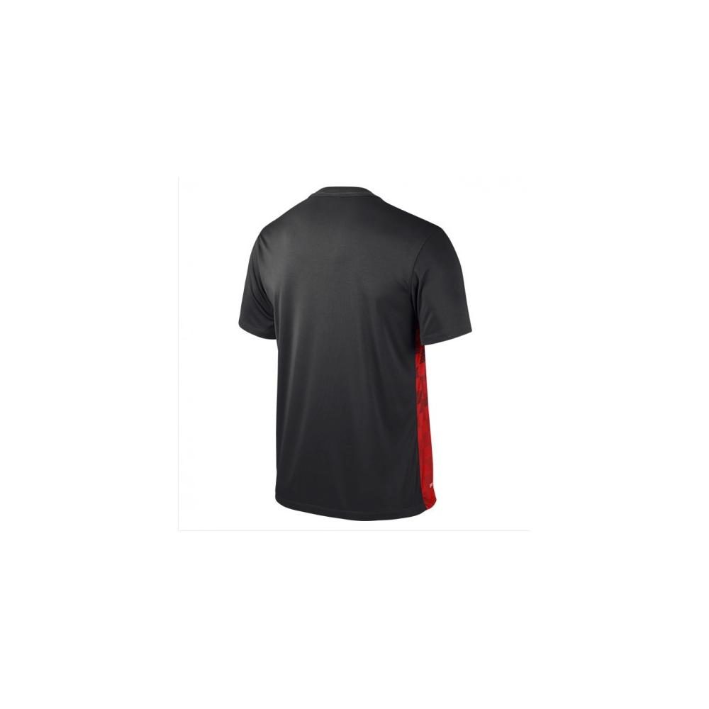 nike chaussures enfants jeu - Nike Precision III Jersey Black/University Red