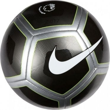 Premier League Pitch Football Black/White