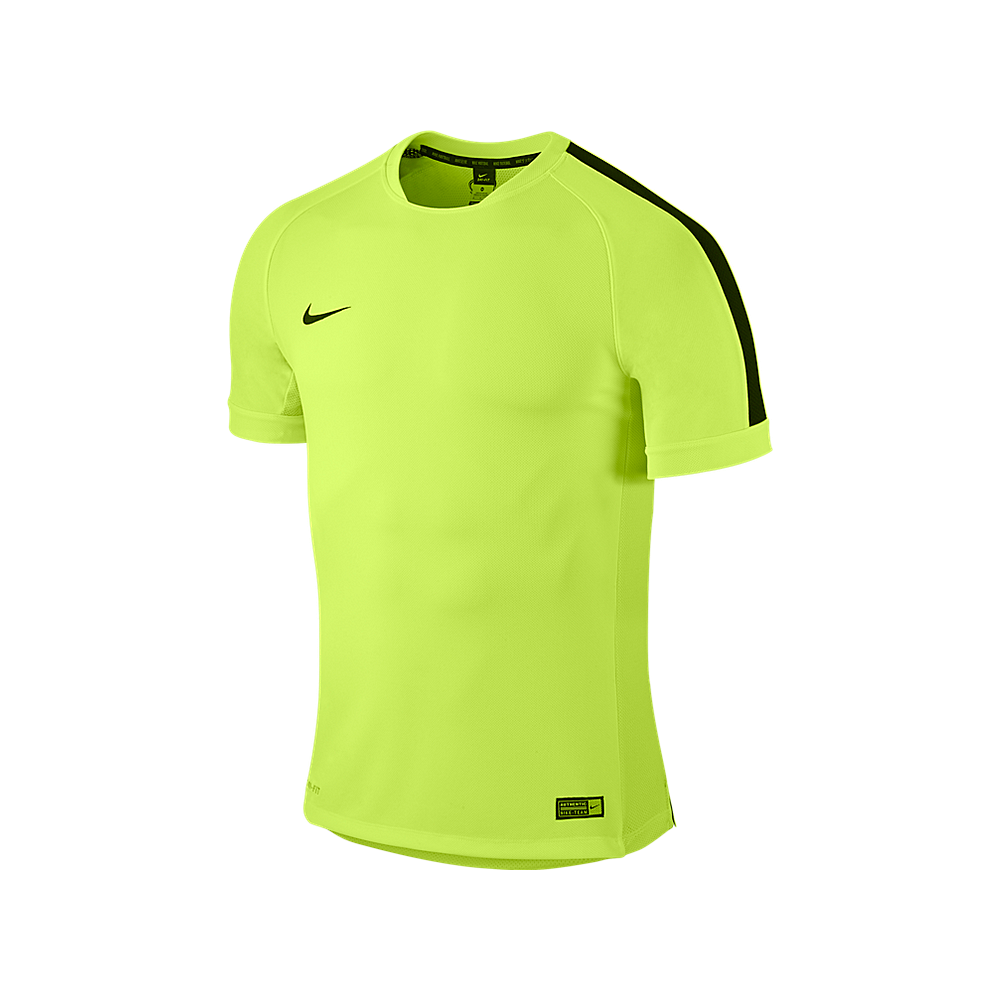 SQUAD 15 FLASH SS TRAINING TOP VOLT BLACK 046a20cac