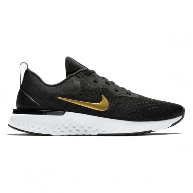 Odyssey React Black/Gold Running Shoes