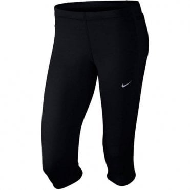 Women's Tech Capri Black