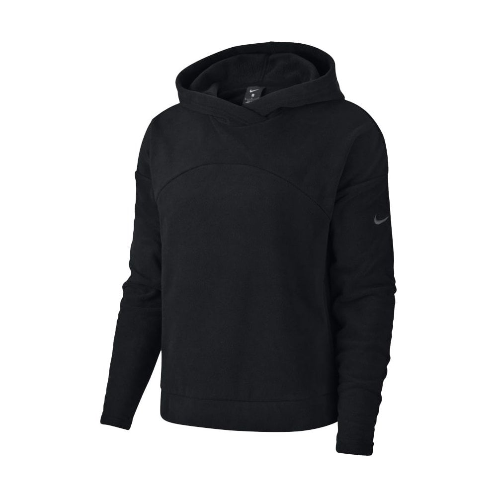 sneakers for cheap 309fa 51e4d Nike Women's Therma Pullover Fleeced Hoodie Black