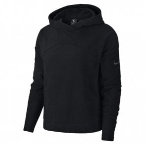 Women s Therma Pullover Fleeced Hoodie Black adeb39652939