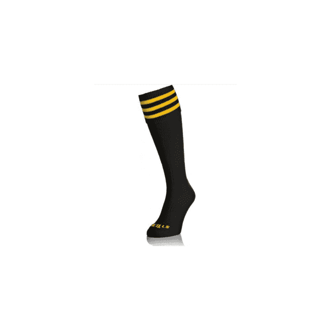 O'Neills 3 Bar Sock Black/Amber