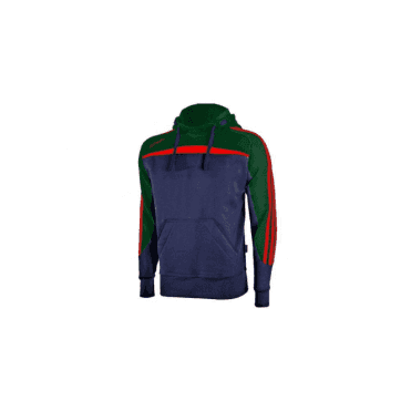 Marley Hoody Marine/Bottle/Red
