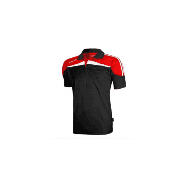 O'Neills Marley Polo Black/Red/White