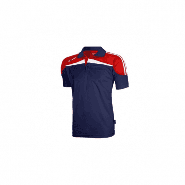 O'Neills Marley Polo Navy/Red/White