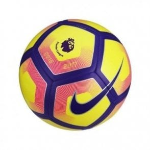 Premier League Pitch Football Yellow/Purple