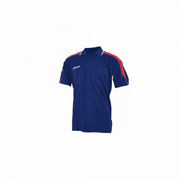 Prostar Magnetic Polo Shirt Navy/Scarlet
