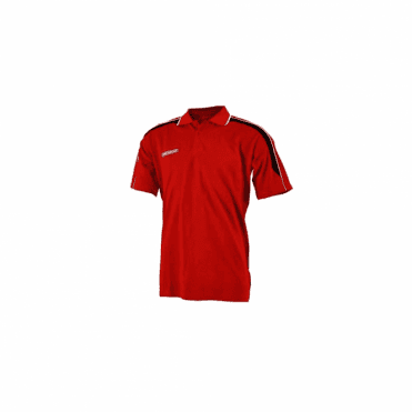 Prostar Magnetic Polo Shirt Scarlet/Black