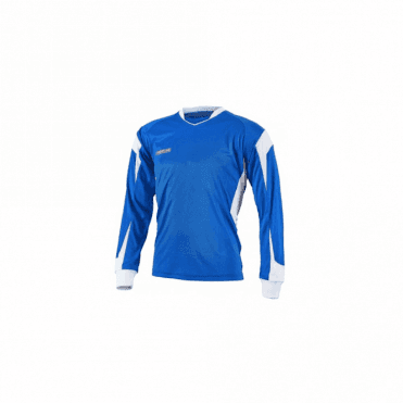 Prostar Refract Jersey LS Royal/White