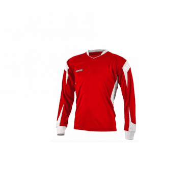 Prostar Refract Jersey LS Scarlet/White