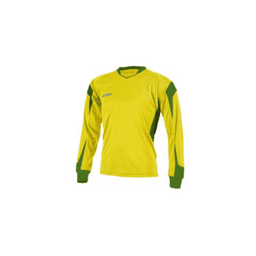Prostar Refract Jersey LS Yellow/Emerald