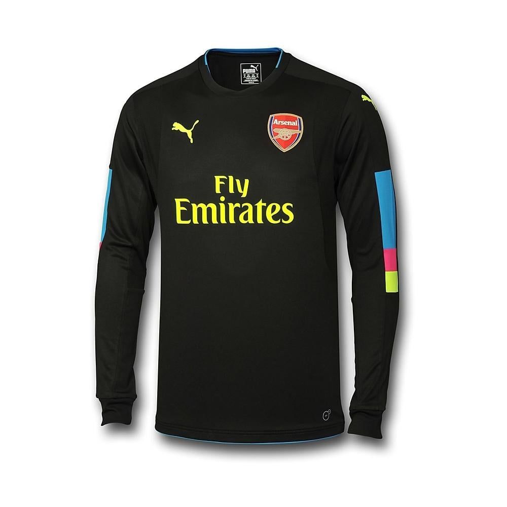 cea2c8bc5a0 ARSENAL 2016 17 HOME LS JNR GOALKEEPER JERSEY