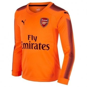 Arsenal Kids 17/18 Away GK Jersey