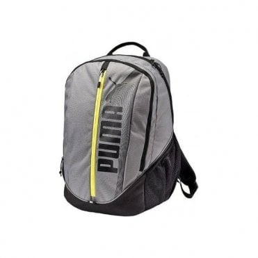 Deck Backpack Grey/Yellow