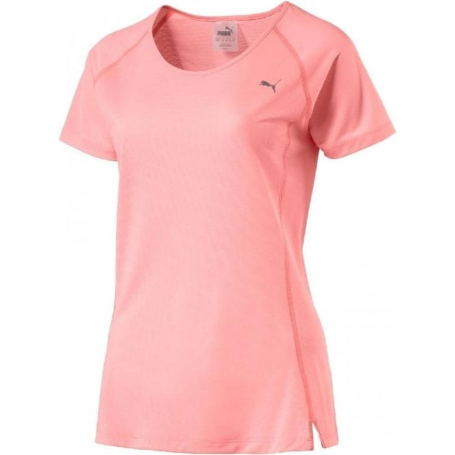 Puma Women's Core-Run Short Sleeve Training Top