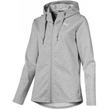 Women's Modern Sports Full Zip Grey