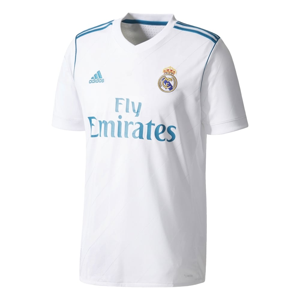 size 40 ece2e c783f Real Madrid Home Jersey 17/18