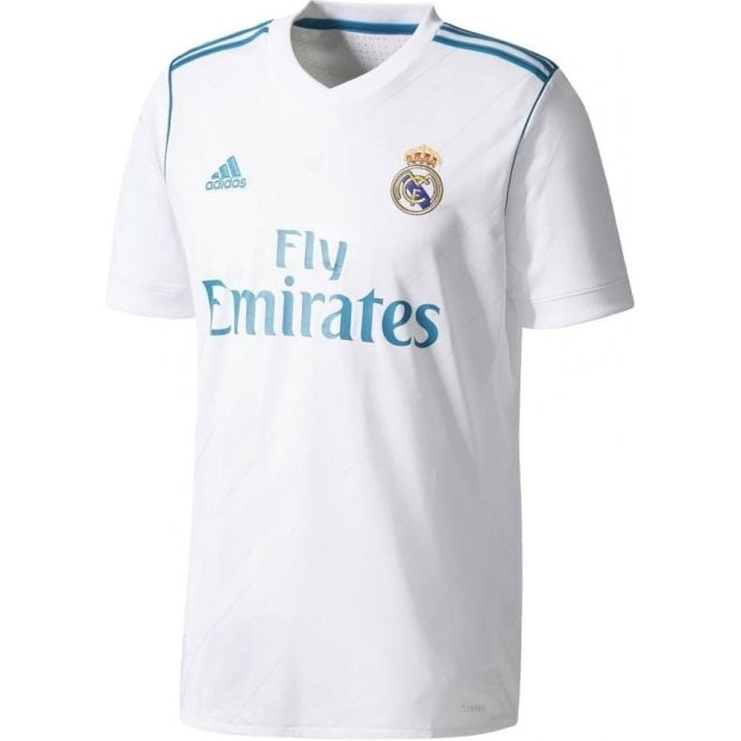8db4ef8e8 Real Madrid Home Jersey 17 18
