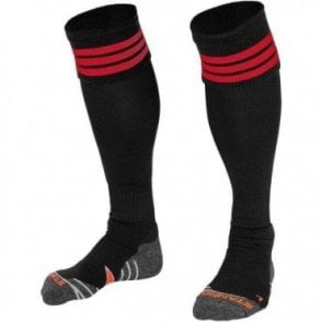 RING SOCK BLACK/RED