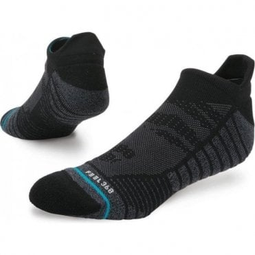Men's Training Uncommon Solids Tab Sock Black