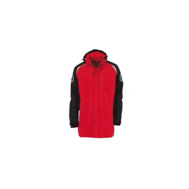CENTRO COACH JACKET ROYAL RED/BLACK (PRICE BASED ON A MINIMUM BUY OF 6 PIECES)
