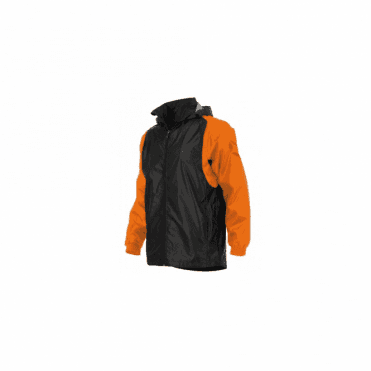 CENTRO WINDBREAKER ORANGE/BLACK (PRICE BASED ON A MINIMUM BUY OF 6 PIECES)