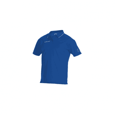 CLIMATEC POLO ROYAL/WHITE (PRICE BASED ON A MINIMUM BUY OF 6 PIECES)
