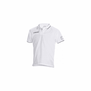 CLIMATEC POLO WHITE/BLACK (PRICE BASED ON A MINIMUM BUY OF 6 PIECES)