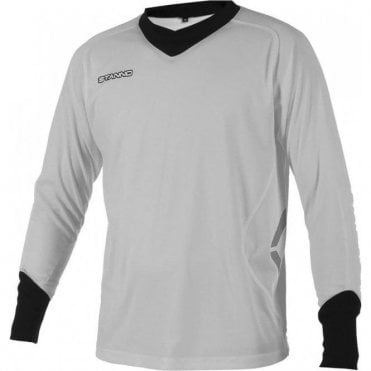 GENOVA GOALKEEPER LS JERSEY GRY/BLACK (PRICE BASED ON A MINIMUM BUY OF 6 PIECES)