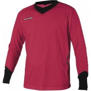 GENOVA GOALKEEPER LS JERSEY MAGENTA/BLACK (PRICE BASED ON A MINIMUM BUY OF 6 PIECES)