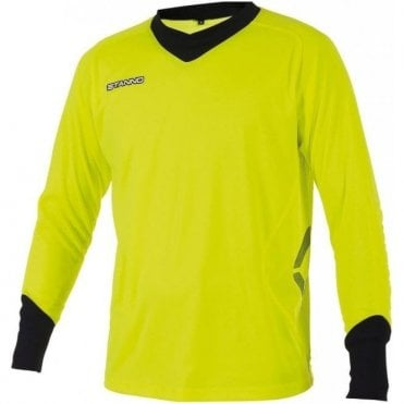 GENOVA GOALKEEPER LS JERSEY YELL/BLACK (PRICE BASED ON A MINIMUM BUY OF 6 PIECES)
