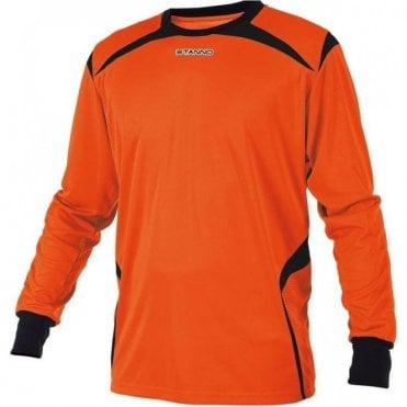 LIVORNO GOALKEEPER LS JERSEY ORANGE/BLACK (PRICE BASED ON A MINIMUM BUY OF 6 PIECES)