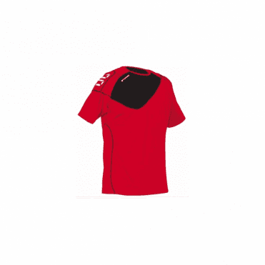 MONTREAL JERSEY SS RED/BLACK (Price based on a min buy of 6 pieces)