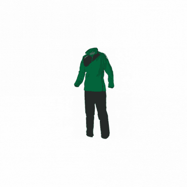 MONTREAL MICRO TRACKSUIT LDIES GREEN/BLACK(PRICE BASED ON A MINIMUM BUY OF 6 PIECES)