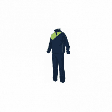 MONTREAL MICRO TRACKSUIT NAVY/LIME(PRICE BASED ON A MINIMUM BUY OF 6 PIECES)