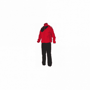 MONTREAL MICRO TRACKSUIT RED/BLACK(PRICE BASED ON A MINIMUM BUY OF 6 PIECES)