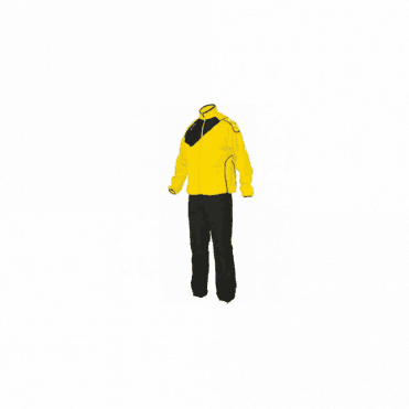 MONTREAL MICRO TRACKSUIT YELLOW/BLACK(PRICE BASED ON A MINIMUM BUY OF 6 PIECES)