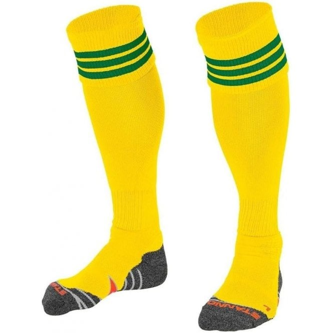 Stanno RING SOCK YELLOW/GREEN
