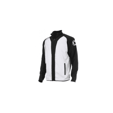 RIVA MICRO JACKET WHITE/BLACK (PRICE BASED ON A MINIMUM BUY OF 6 PIECES)