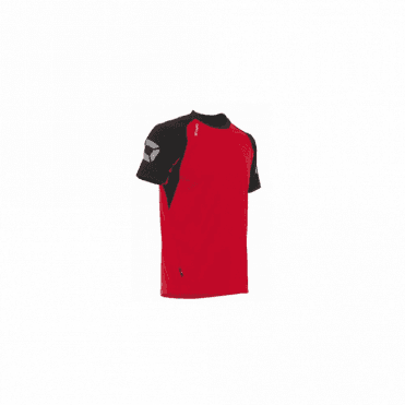 RIVA TSHIRT RED/BLACK (Price based on a min buy of 6 pieces)