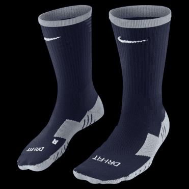 TEAM MATCHFIT CORE CREW SOCK OBSIDIAN
