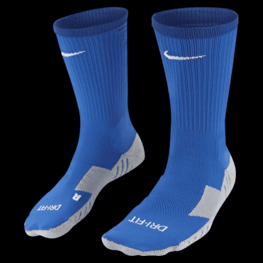 TEAM MATCHFIT CORE CREW SOCK ROYAL BLUE