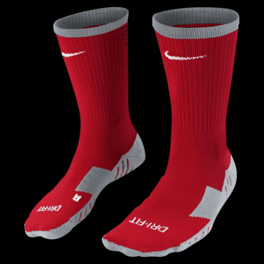 TEAM MATCHFIT CORE CREW SOCK UNIVERSITY RED