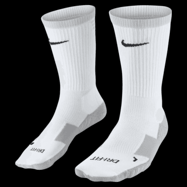 TEAM MATCHFIT CORE CREW SOCK WHITE