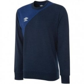TRAINING SWEAT TOP BOLD BLUE/BLUE