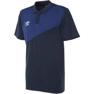 TRAVEL POLY POLO SS Navy Blue